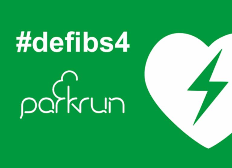 A defib 4 Batemans Bay parkrun Logo