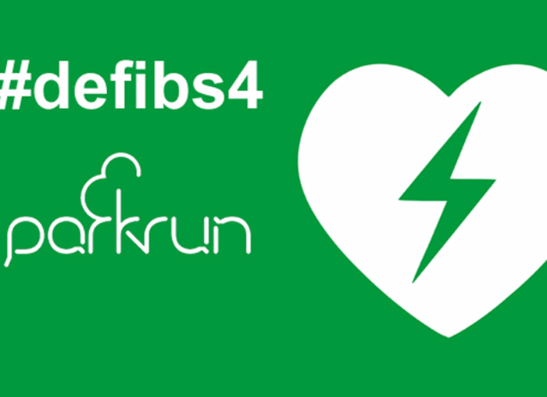 A defib 4 Sale parkrun Logo