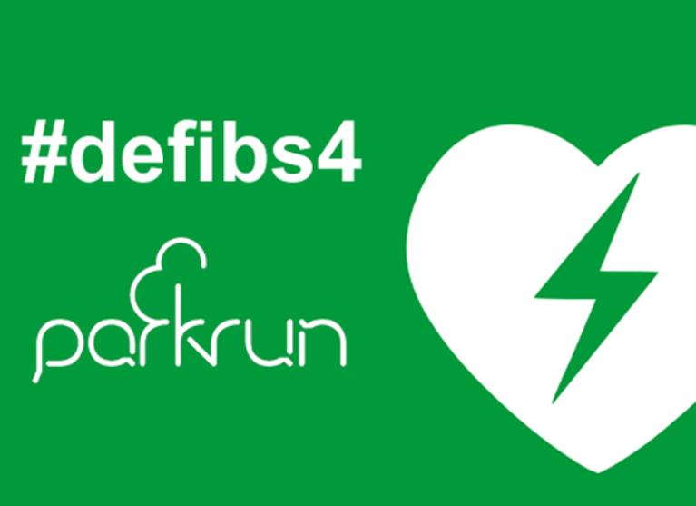 A defib 4 Cobram parkrun Logo