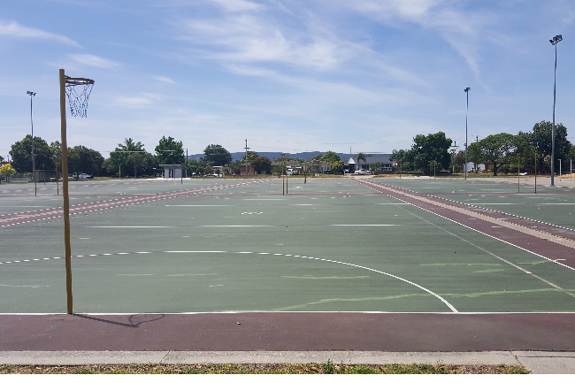 Kelly Park Netball Courts Refurbishment Banner