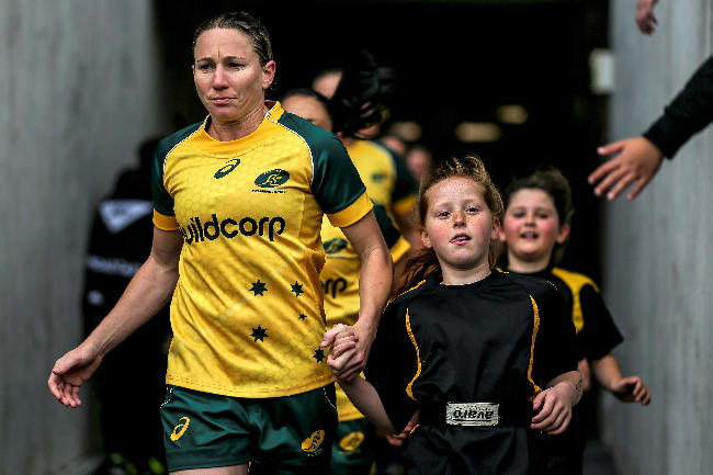 Buildcorp Wallaroos 2017 World Cup Campaign Banner