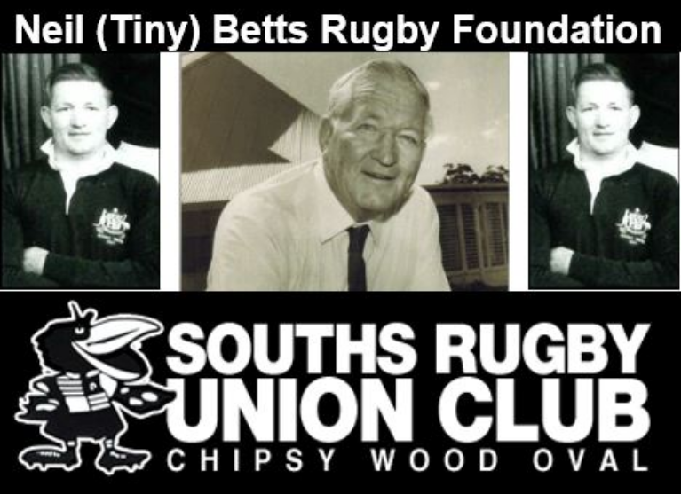 Neil Tiny Betts Rugby Foundation