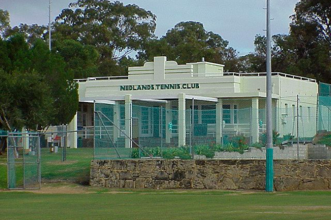 Nedlands Tennis Club Foundation Banner