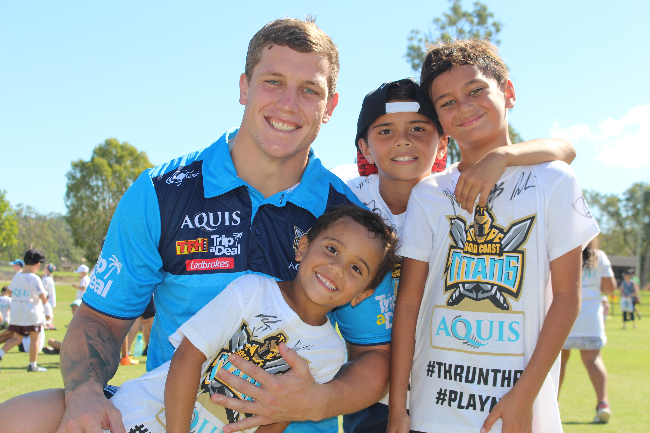 Gold Coast Titans Community Foundation Banner