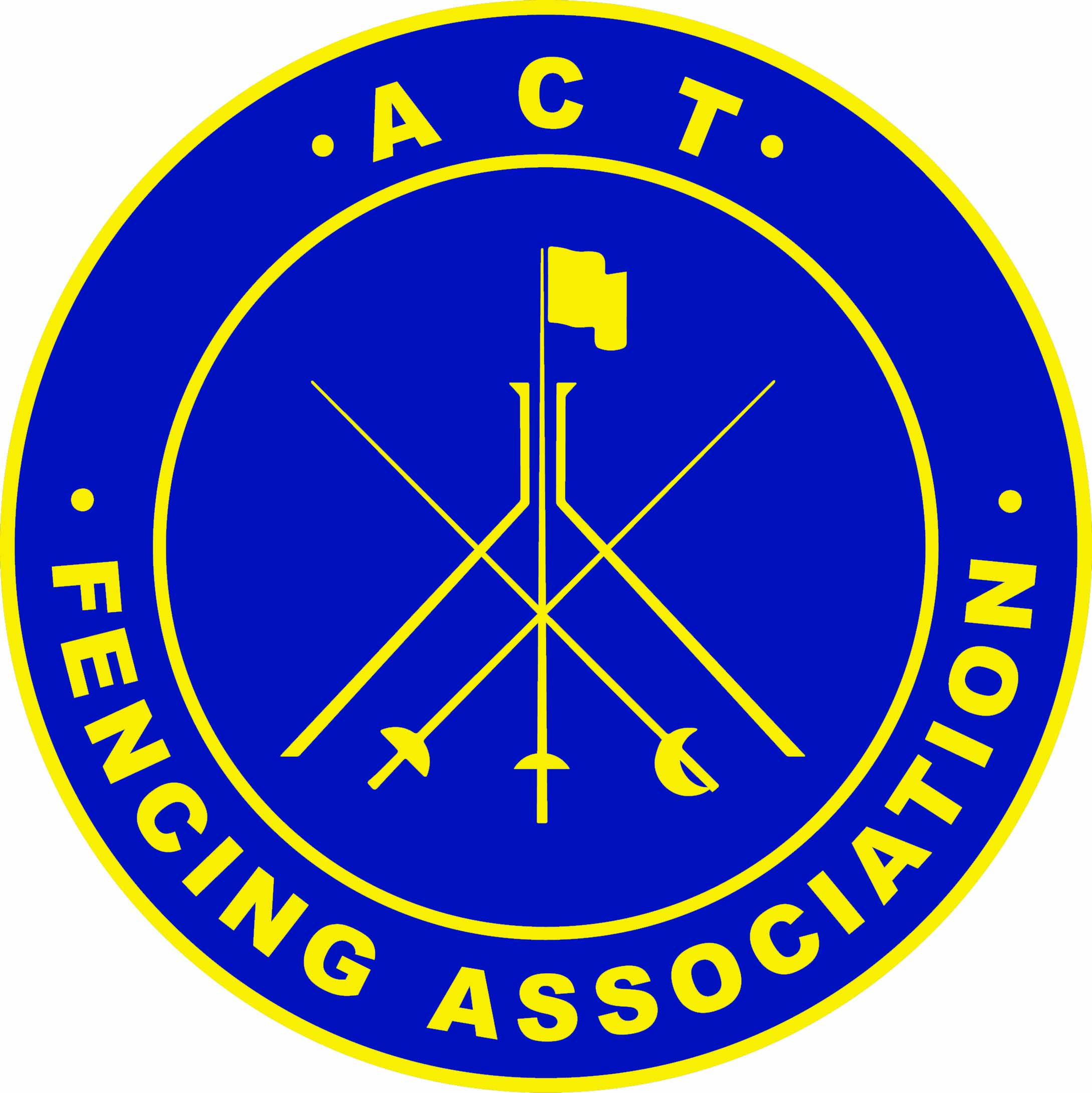 Supporting the Sport of Fencing in the ACT Logo