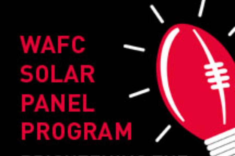 Solar Panel Program Banner