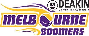 Melbourne Boomers Junior Membership Donations Logo
