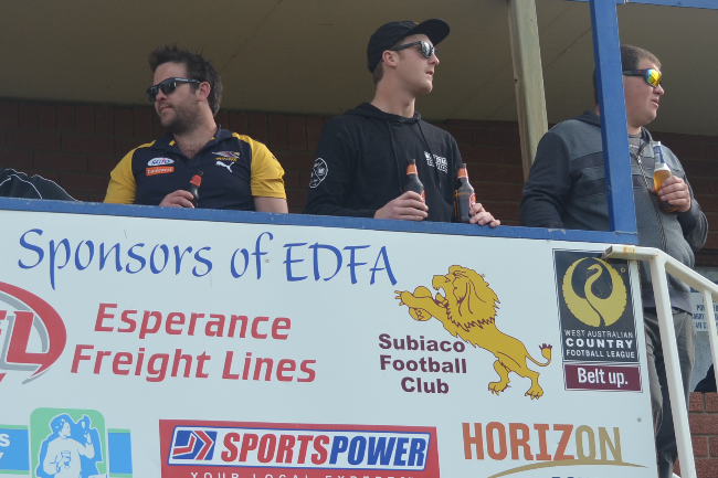 Subiaco Football Club Regional Support Fund Banner