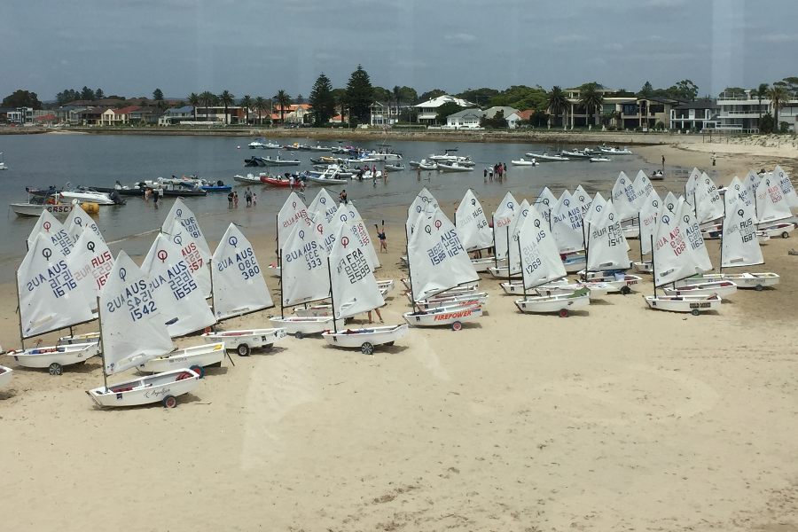 GRSC Youth Sailors Australian Team Support Fund Banner