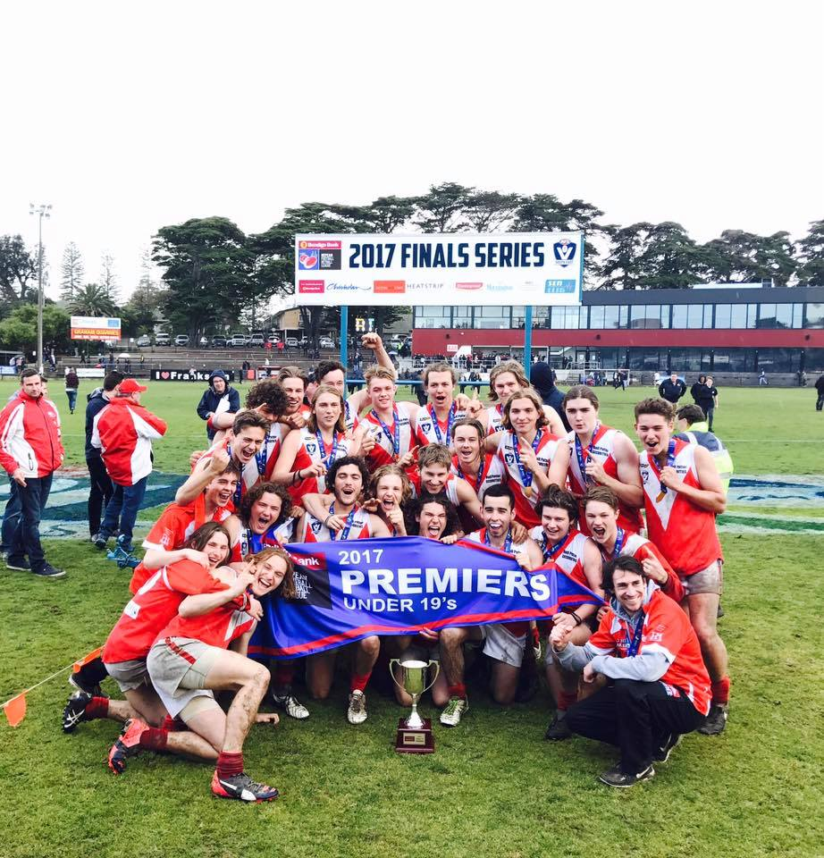 Red Hill Football Netball Club Foundation Banner