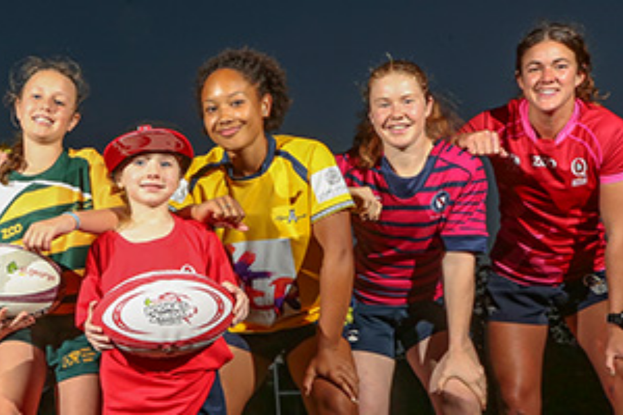 Womens Rugby Banner