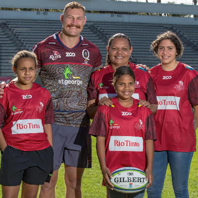 Queensland Reds Indigenous Program Logo