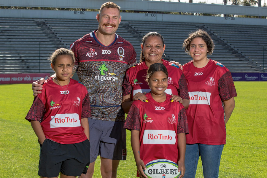 Queensland Reds Indigenous Program Banner
