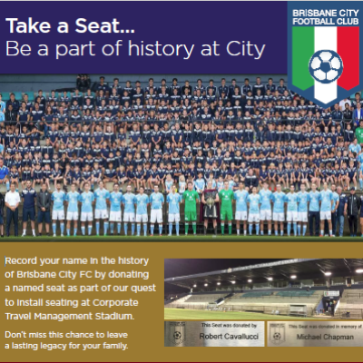 Take a Seat Campaign Logo