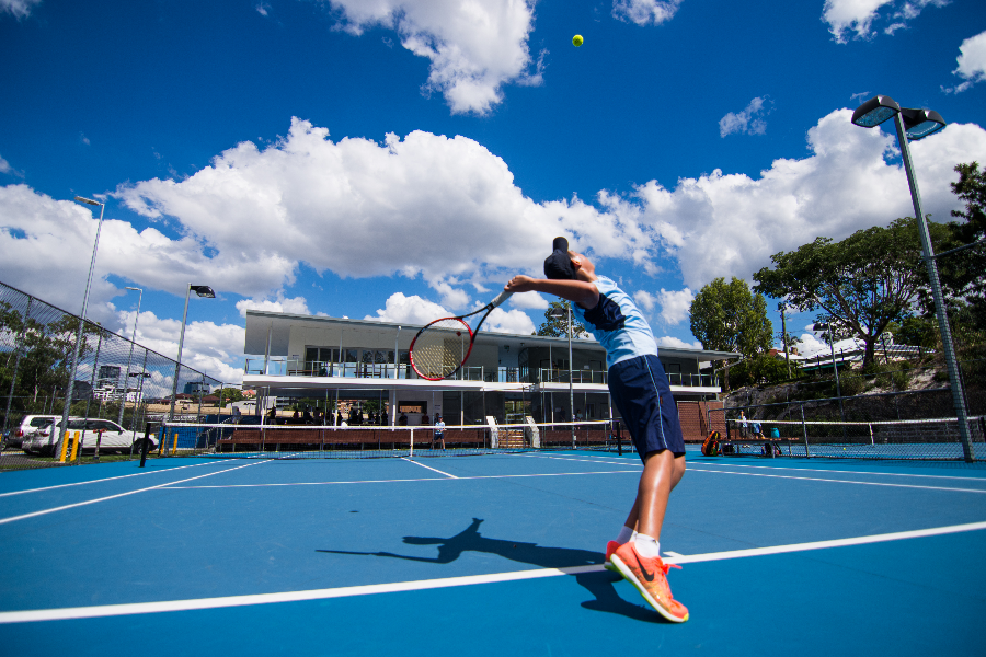 BGS Tennis Program Banner