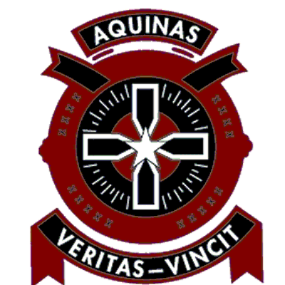 Aquinas College Hockey Project Logo
