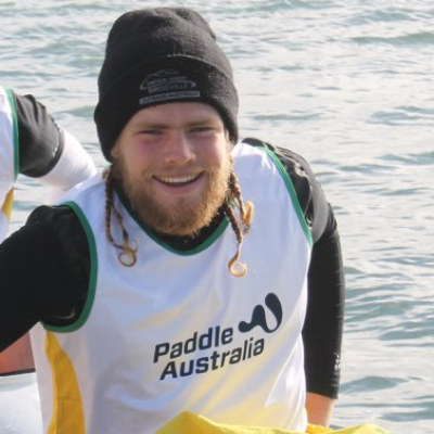Harrison Armstrong Junior Worlds Sprint Kayak Championships Logo