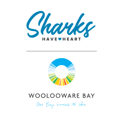 Sharks Have Heart Inclusivity and Diversity Logo