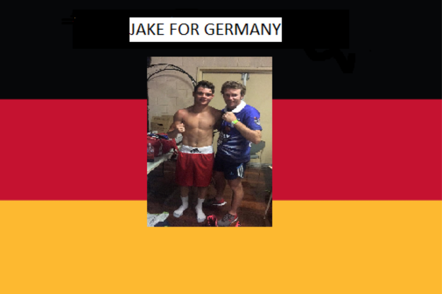 JAKE TO GERMANY Banner