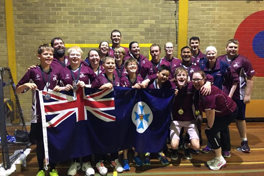 2018 Australian Goalball Championships Banner