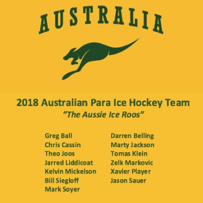 Jason Sauer Para Ice Hockey World Championships C Pool Logo
