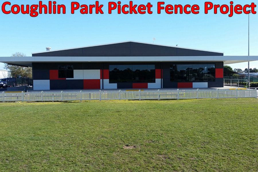 Coughlin Park Picket Fence Banner