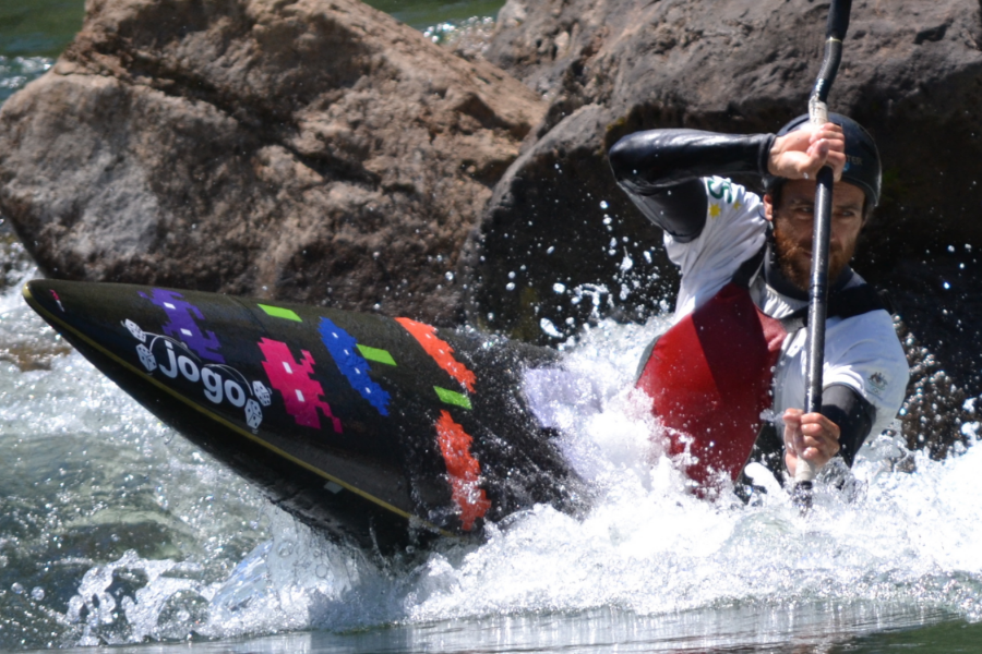 Donate a Tonne and Help Repair the Slalom Rapid at Eildon Banner