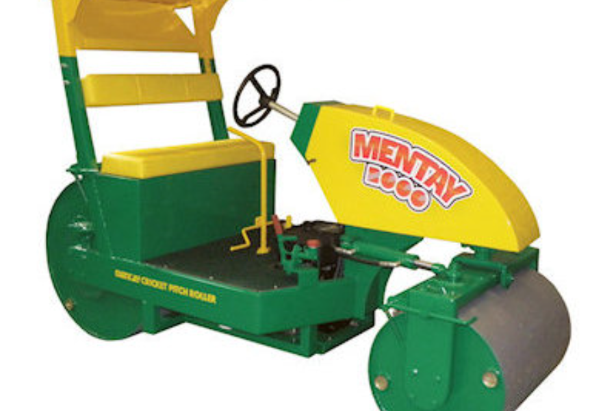 Ride On Mentay 2000 Pitch Roller Banner