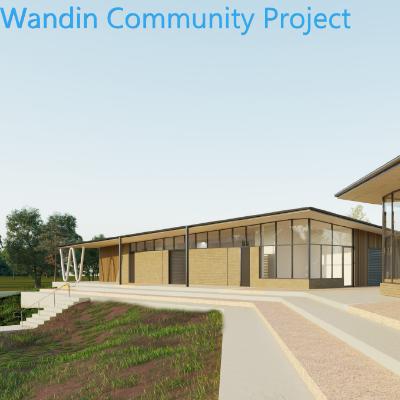 Wandin Recreation Reserve Community Facility Logo