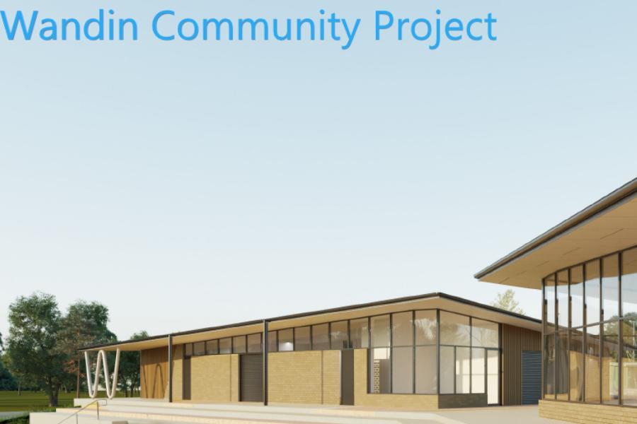 Wandin Recreation Reserve Community Facility Banner