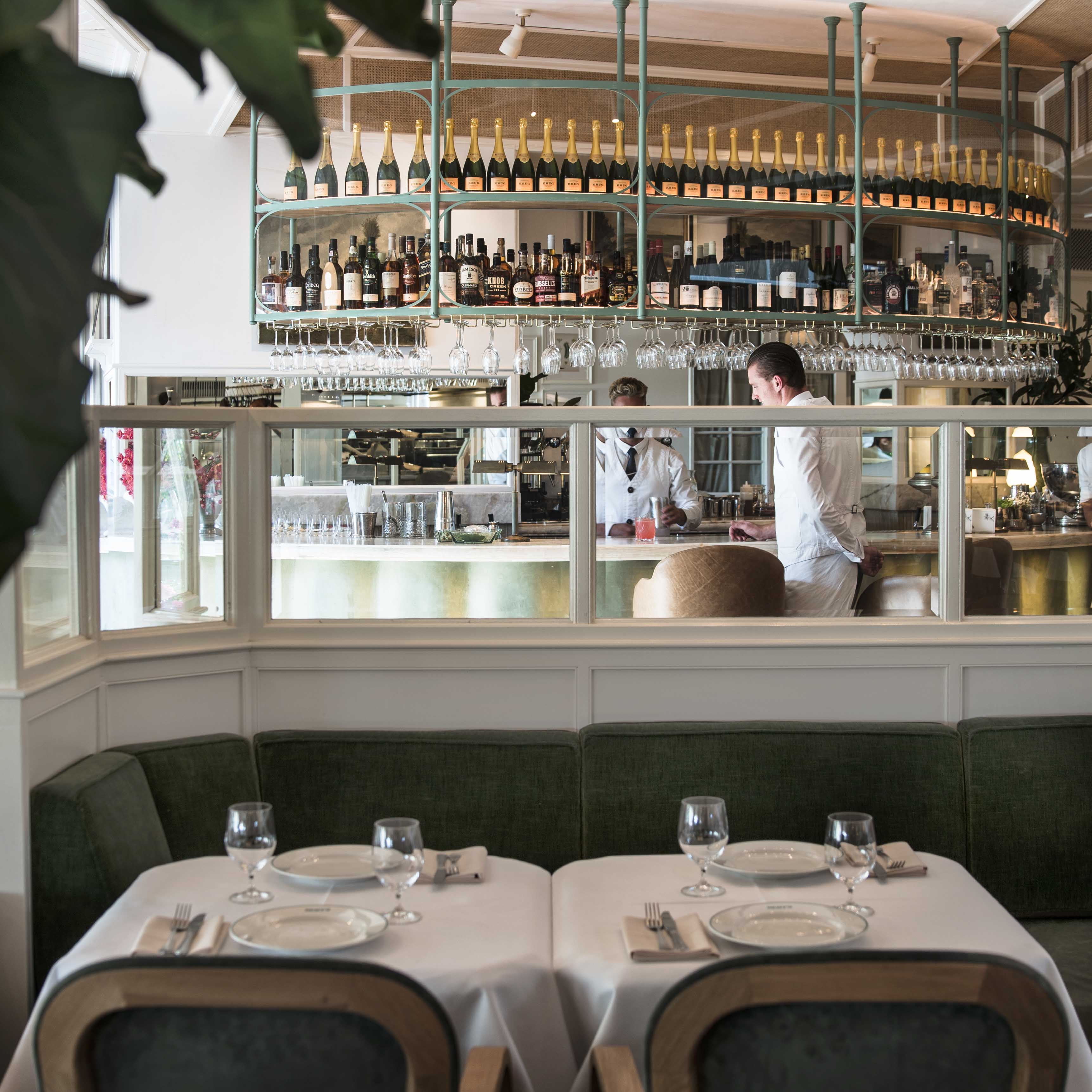 A Bar And Brasserie Reminiscent Of The Grand Hotel Dining Rooms 1930s With Relaxed Air Sydneys Northern Beaches