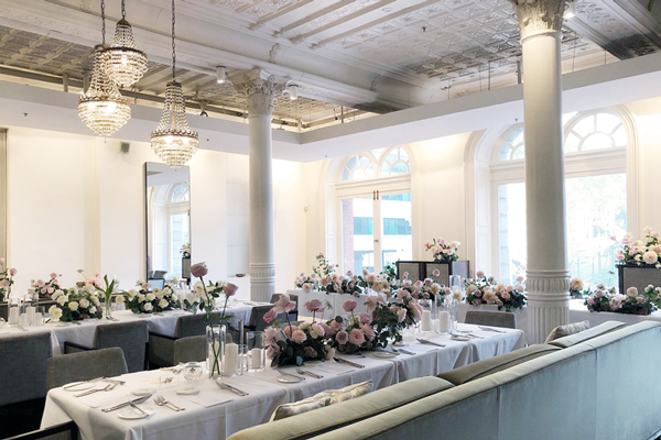 est. establishment restaurant wedding ceremony banquet
