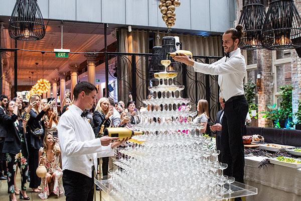 Establishment Main Bar Wedding Ceremony