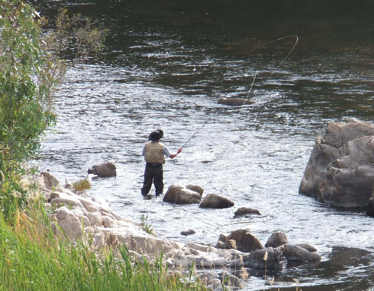 Enjoy some fly fishing in the Goobarrgandra River gallery image