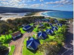 Pet Friendly Accommodation Merimbula, NSW - Beach Cabins