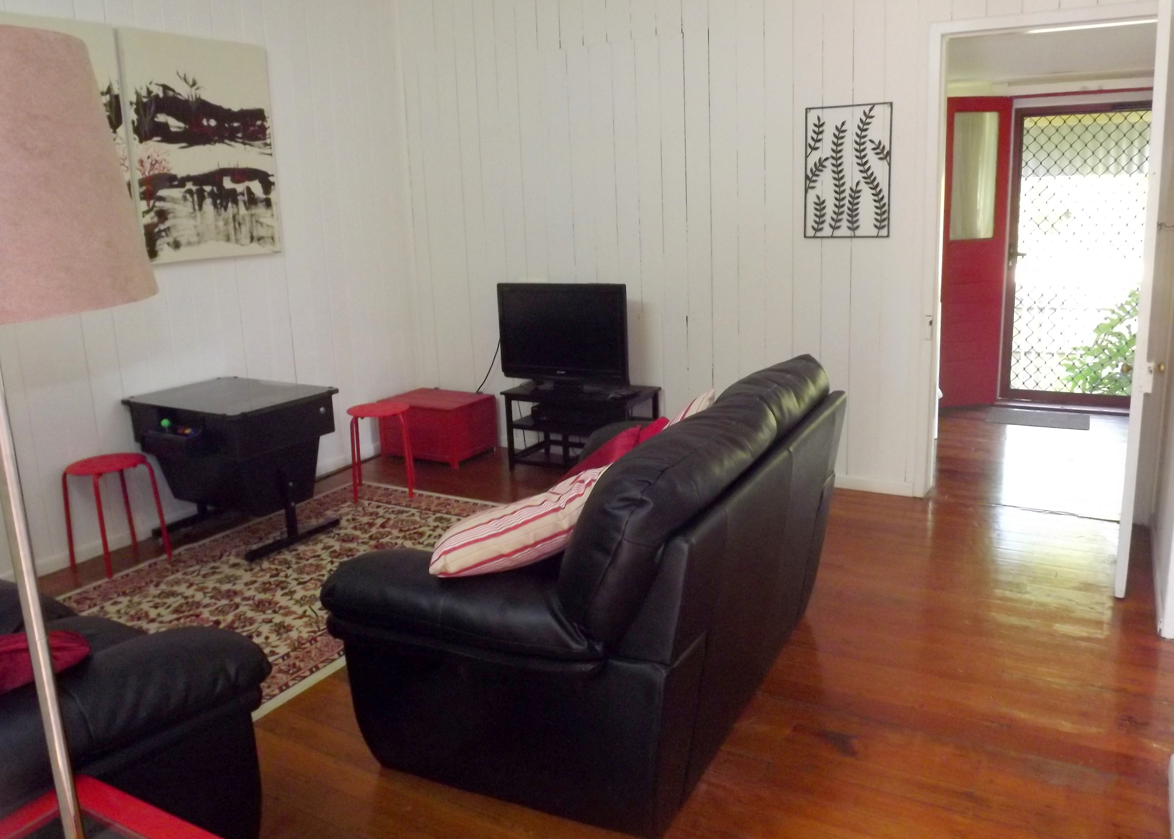 Lounge room and front door gallery image