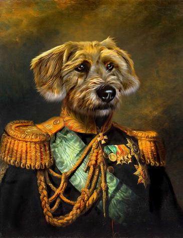 Pompous Pets Custom Pet Portraits Products