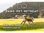 Paws Pet Retreat -  Dural, North Western Sydney