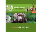 Hornsby Heights Vet Hospital - Vet, Grooming, Puppy school, Pet Boarding -  Sydney