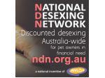 The National Desexing Network