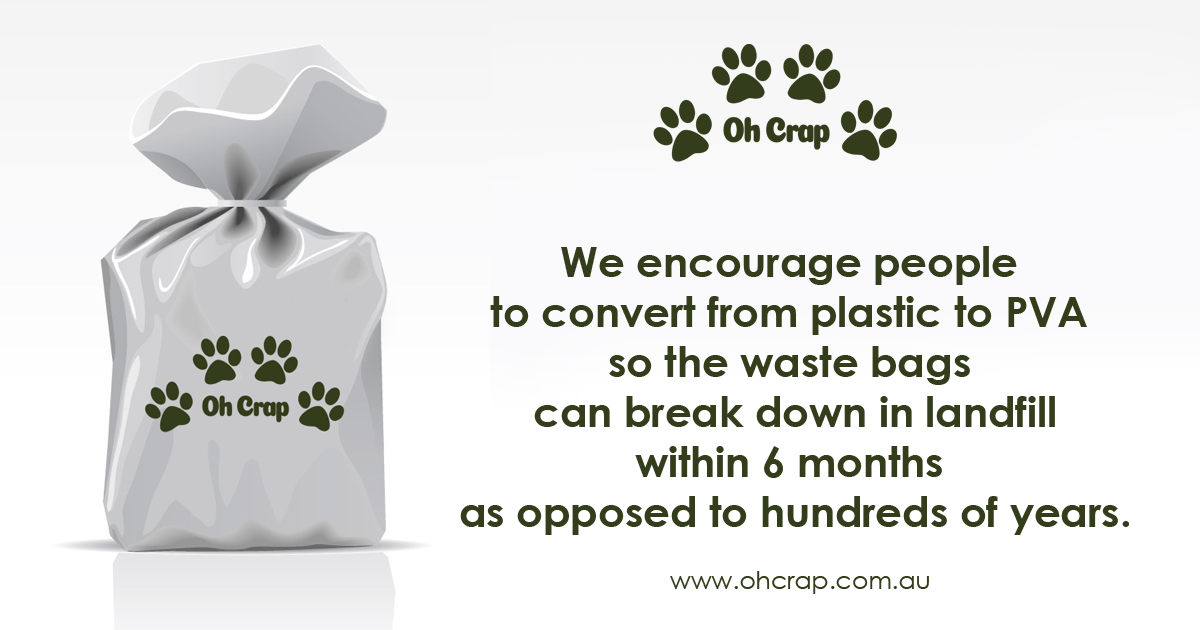 We encourage the change to NON PLASTIC dog bags gallery image