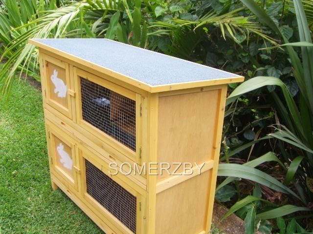 2 Story Rabbit Breeder Cage gallery image