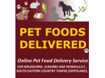 Pet Foods Delivered - Pet Food Online, Pet Food Delivery Melbourne