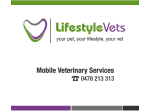 Lifestyle Vets - Mobile Veterinary Services, Busselton