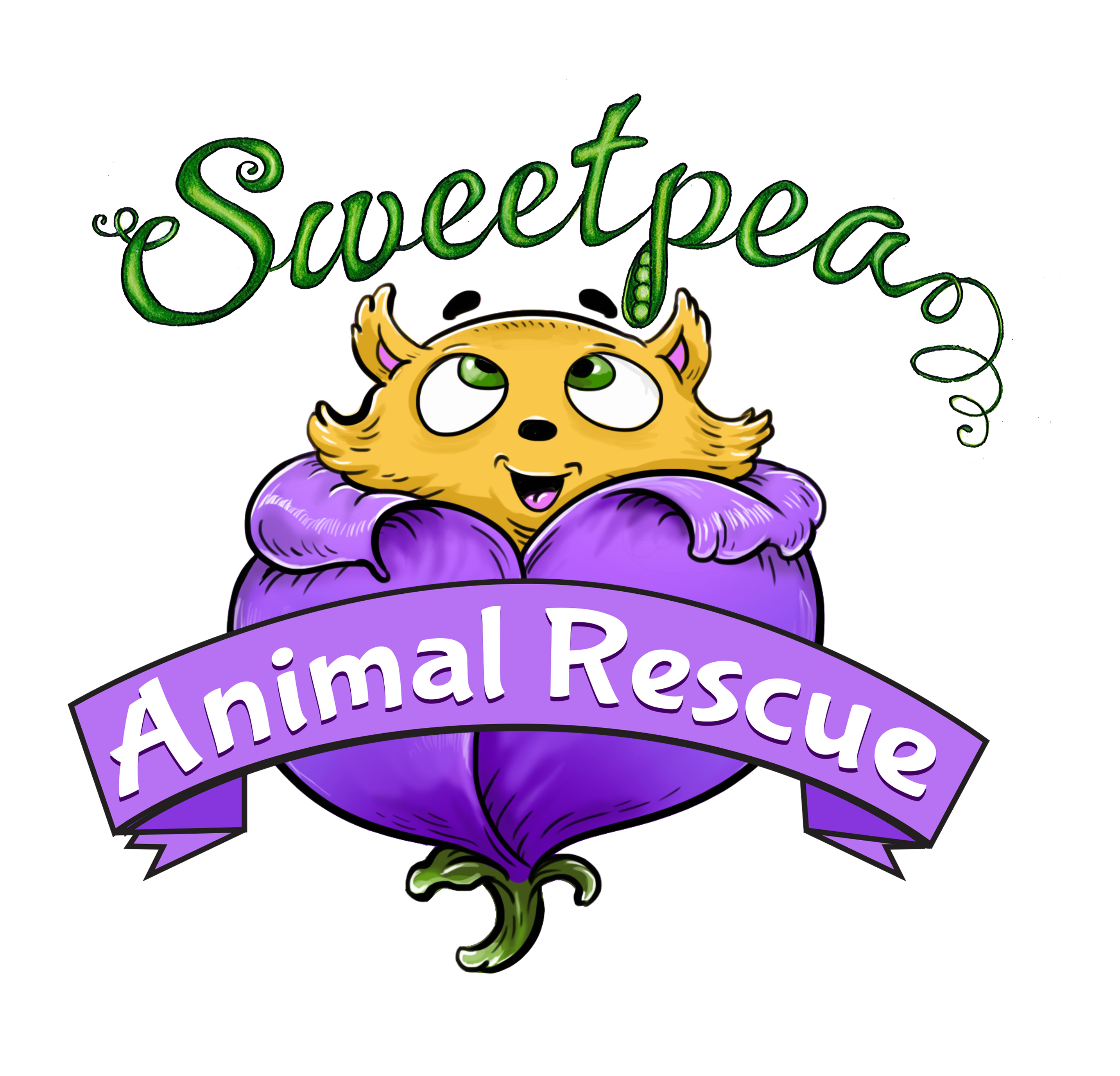 Sweet Pea Animal Rescue Logo