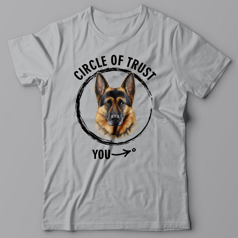 T-shirts for dog lovers gallery image