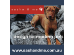 Sasha & Me - Pet Accessories and Products