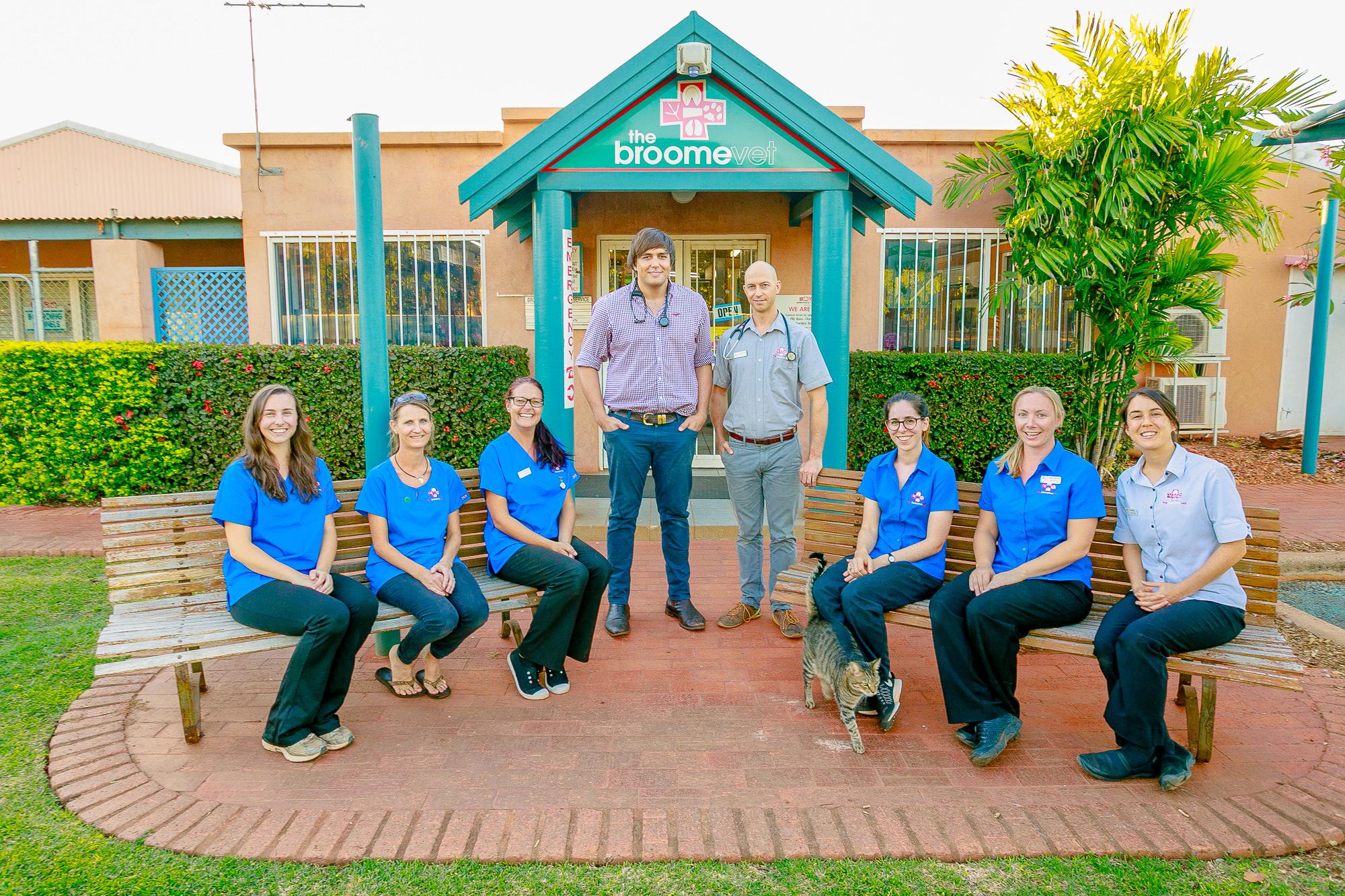 Broome Vet Team