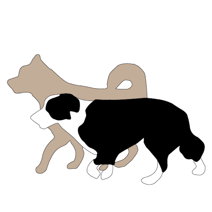 Our Company Logo, Designed around our own dogs Ral gallery image