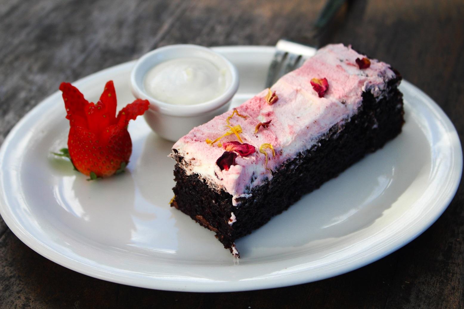 Choc Beetroot Cake - gluten free, vegan gallery image